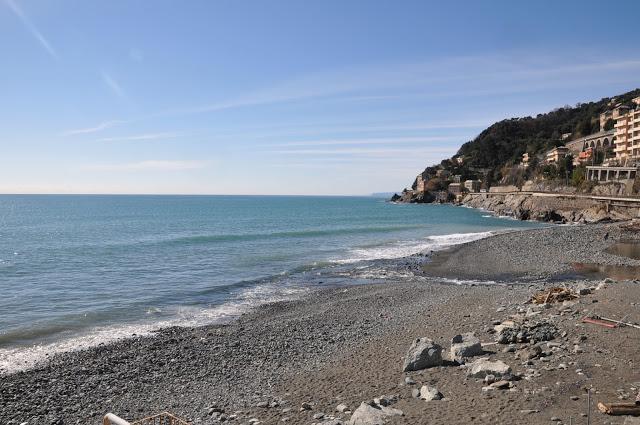 Voltri, la spiaggia