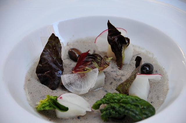 Baccalà, Taggiasche royale, verdure,