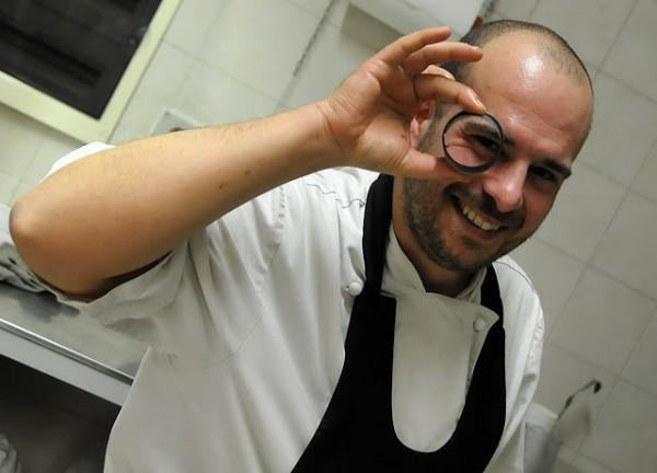 Chef Davide Cannavino a La Voglia Matta di Genova Voltri