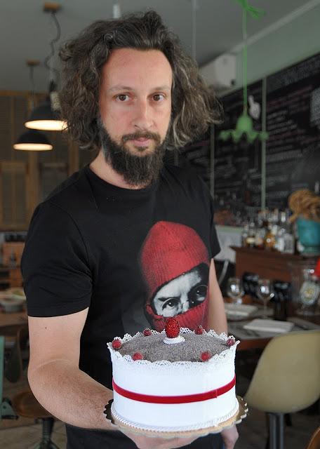 torta e Fabrizio Bruno