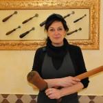 Rossella Bruzzone al Baccicin du Caru di Mele (GE)