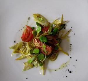 insalata carciofi